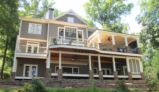 Lake Appeal traditional exterior