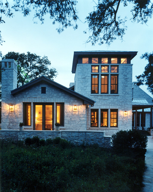 Lake Austin Residence traditional-exterior