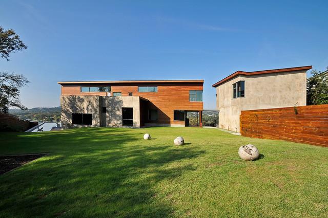 Lake Austin contemporary-exterior