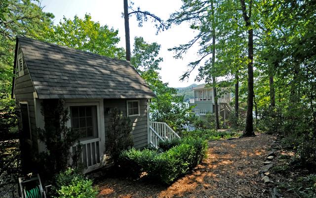 Lake Burton Custom Homes rustic-exterior