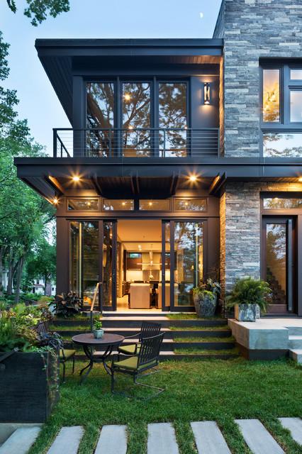 Lake Calhoun Organic Modern Modern Exterior Minneapolis By John Kraem