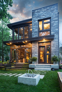 Lake Calhoun Organic Modern   Contemporary   Exterior   Minneapolis   By  John Kraemer U0026 Sons