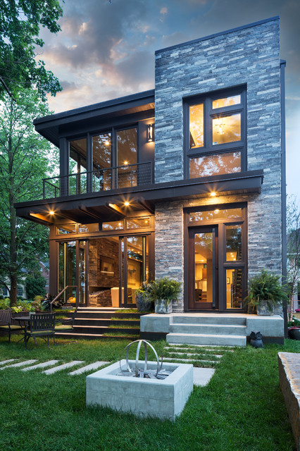 Lake Calhoun Organic Modern - Contemporary - Exterior - Minneapolis ...