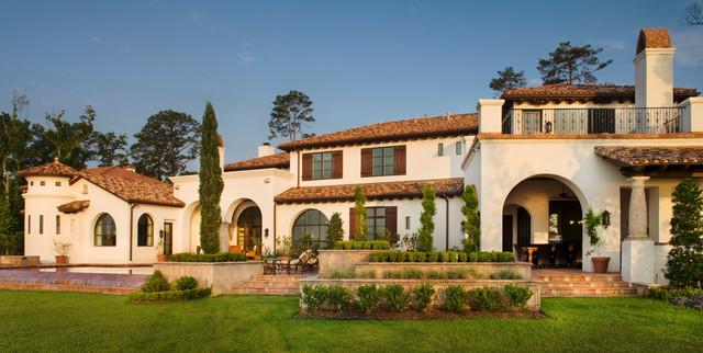 Lake conroe spanish for Spanish mediterranean homes for sale