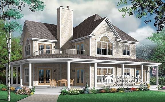 Lake Cottage home design The Heritage 2 Plan no 3832 by