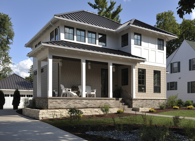 Lake Country Builders transitional-exterior