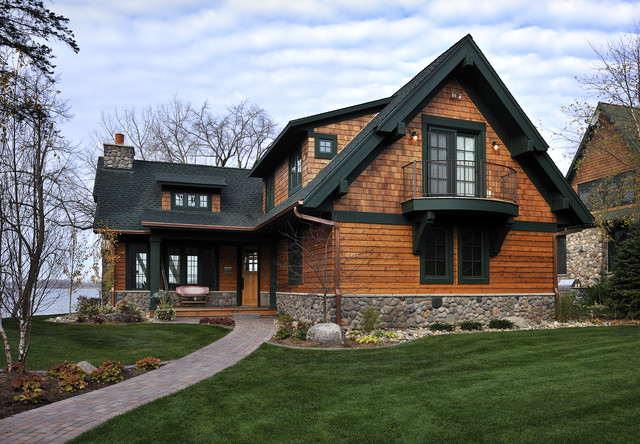 Lake Country Builders traditional-exterior