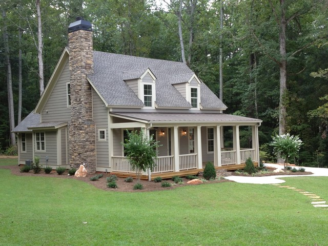 Lake Coweta Cottage Traditional Exterior Atlanta