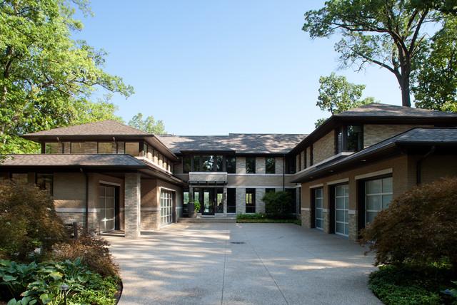 Lake Front Estate contemporary-exterior