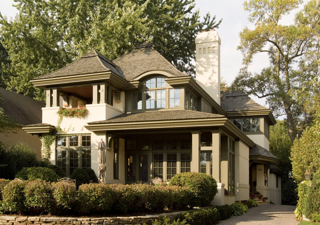 Lake Harriet Residence traditional-exterior