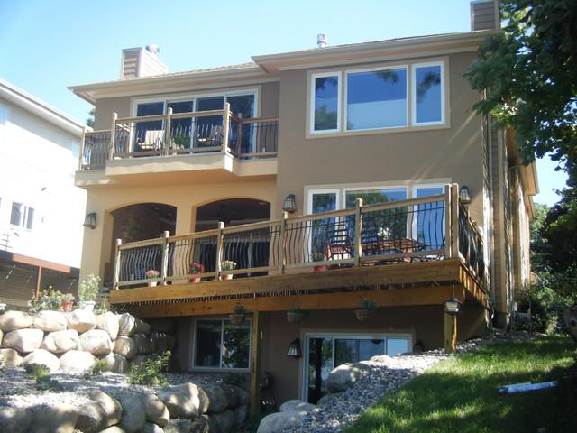 Lake Home 2 contemporary-exterior