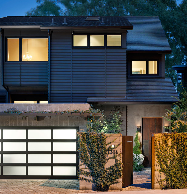 Lake house contemporary exterior seattle by for Seattle modern house