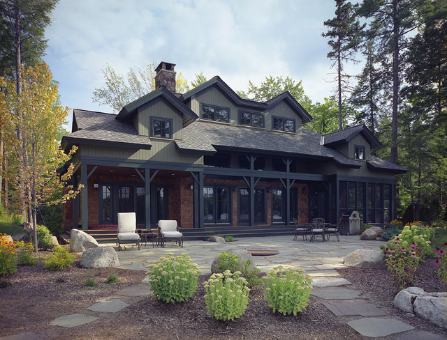 Lake House traditional-exterior