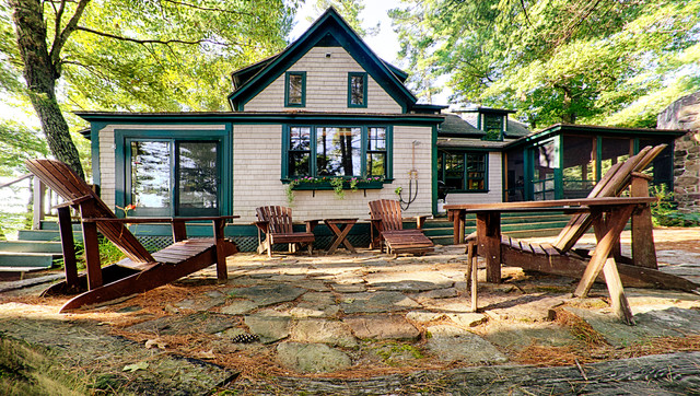 Lake House Makeover Traditional Exterior Portland Maine By Smith Reuter Lull Architects