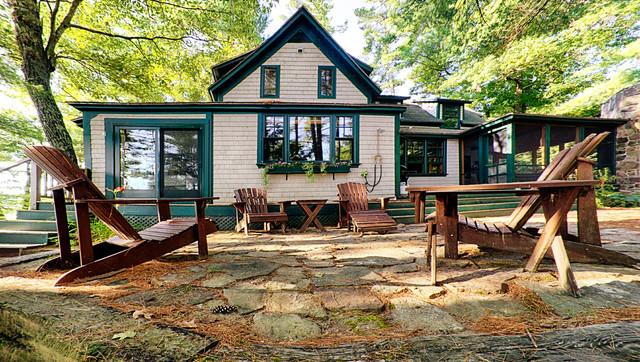 Lake House Makeover Traditional Exterior Portland