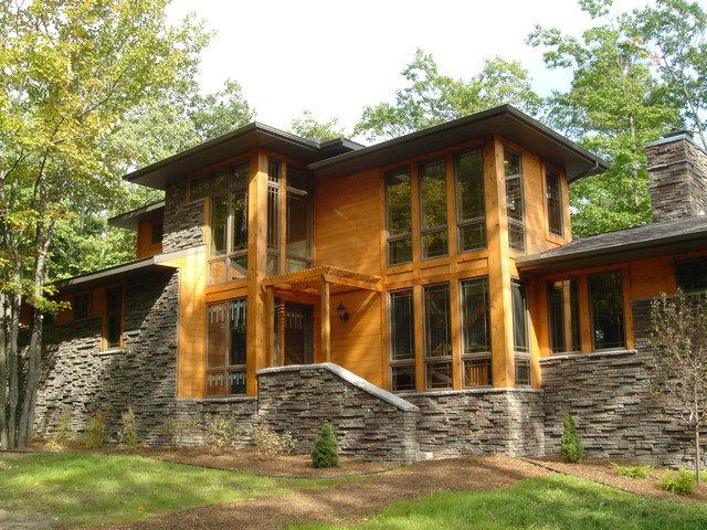 Lake House Michigan Craftsman Exterior By Smp