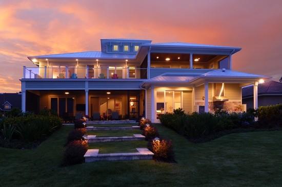 Lake House beach-style-exterior