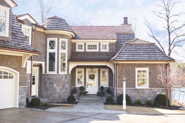 Lake Keowee: Smith Private Residence traditional-exterior
