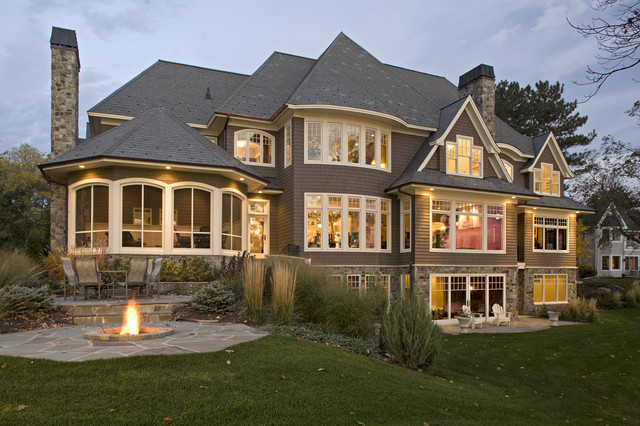Lake Minnetonka Residence traditional-exterior