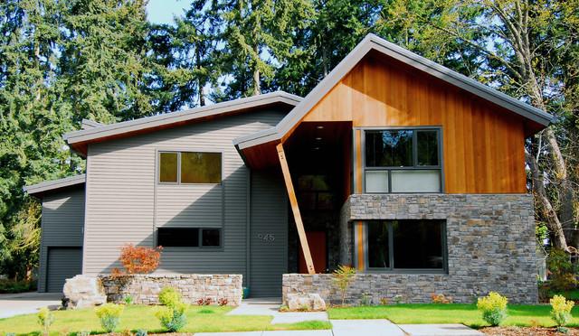 Lake Oswego House contemporary-exterior