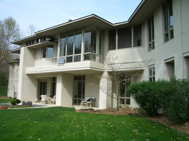 Lake Point contemporary-exterior