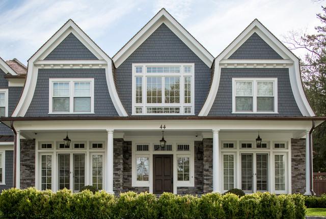 Lake rd hampton shingle style home for Hampton shingle style house plans