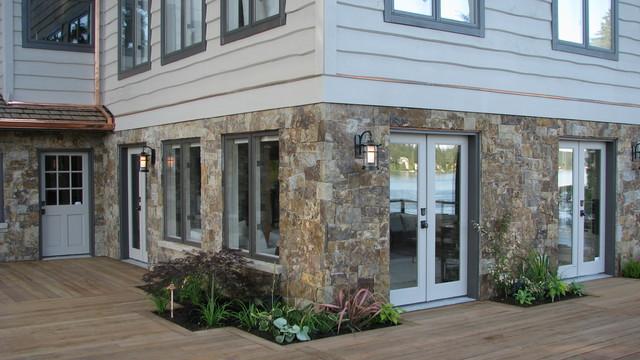 Lake Shore Estate eclectic-exterior