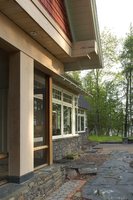 Lake Superior Residence traditional-exterior