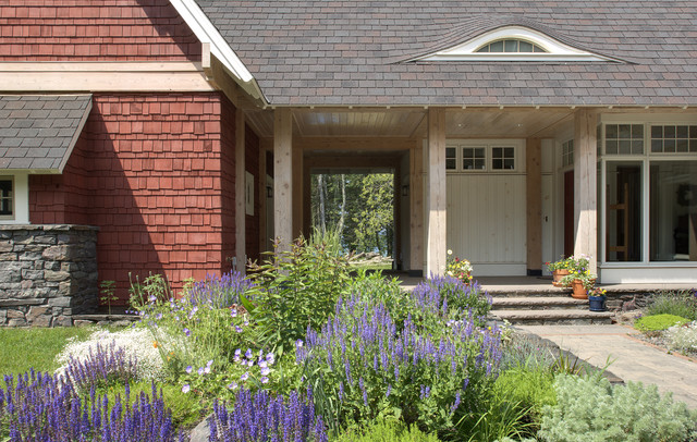 Lake Superior Residence rustic-exterior