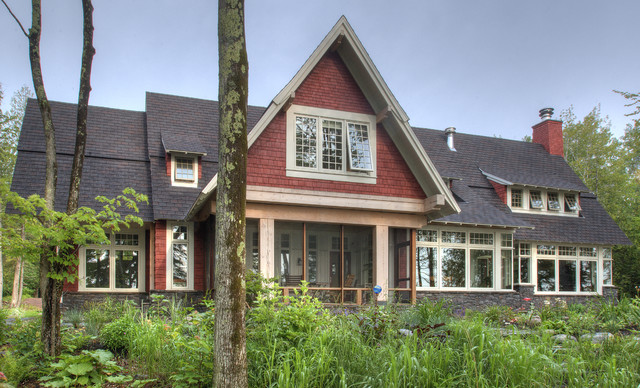 Lake Superior Residence traditional exterior