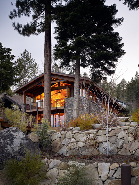 Lake tahoe residence contemporary exterior other for Tahoe architects