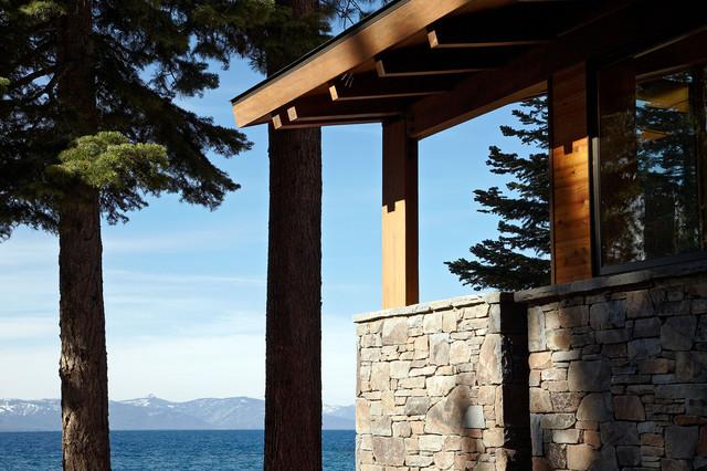 Lake Tahoe Residence contemporary-exterior
