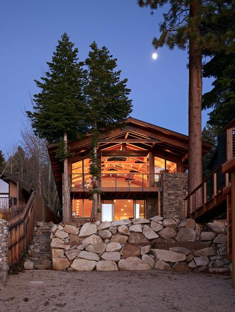 Lake Tahoe Residence rustic-exterior