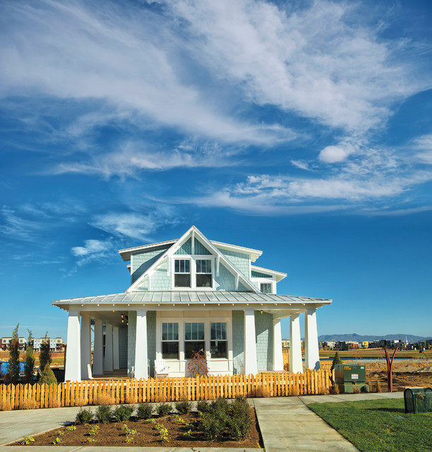 Lake village the entertainer by rainey homes craftsman for Rainey homes