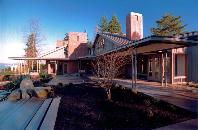 Lake Washington contemporary-exterior