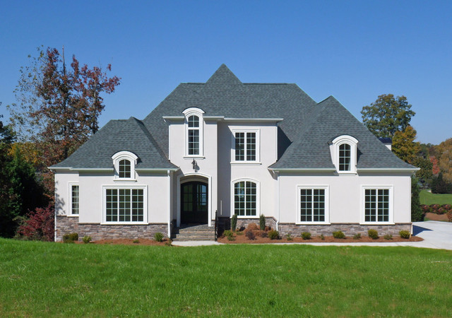 Lake wylie french eclectic for French eclectic house plans