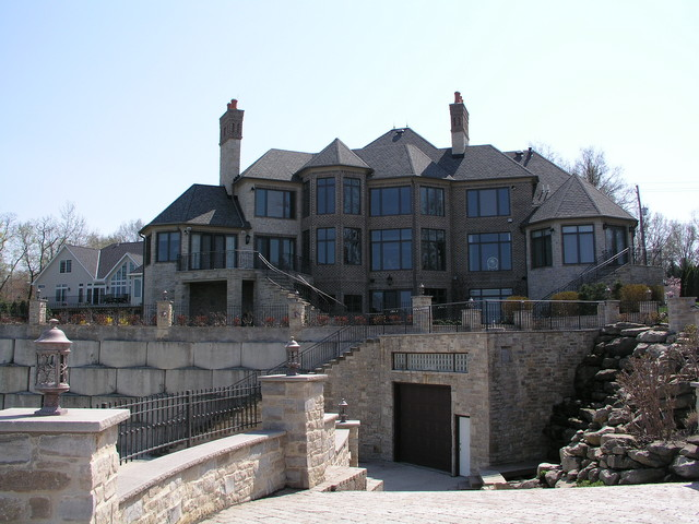 Lakefront Boathouse traditional-exterior