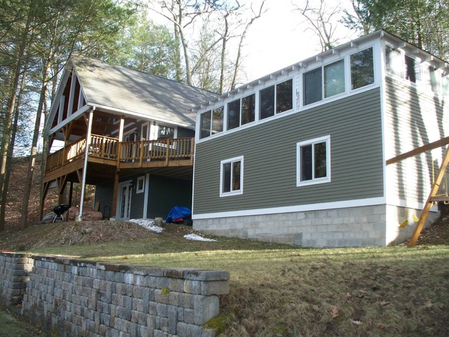 Lakefront Bungalow Addition