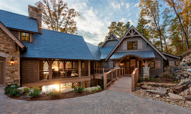 lakefront residence i the reserve at lake keowee