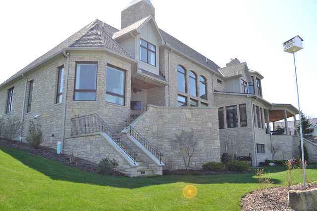 Lakefront West traditional-exterior