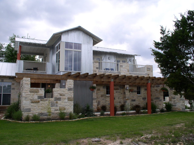 Lakeside Elevation (2) contemporary-exterior