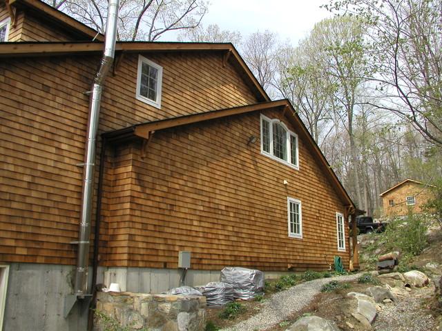 Lakeside Renovation traditional-exterior