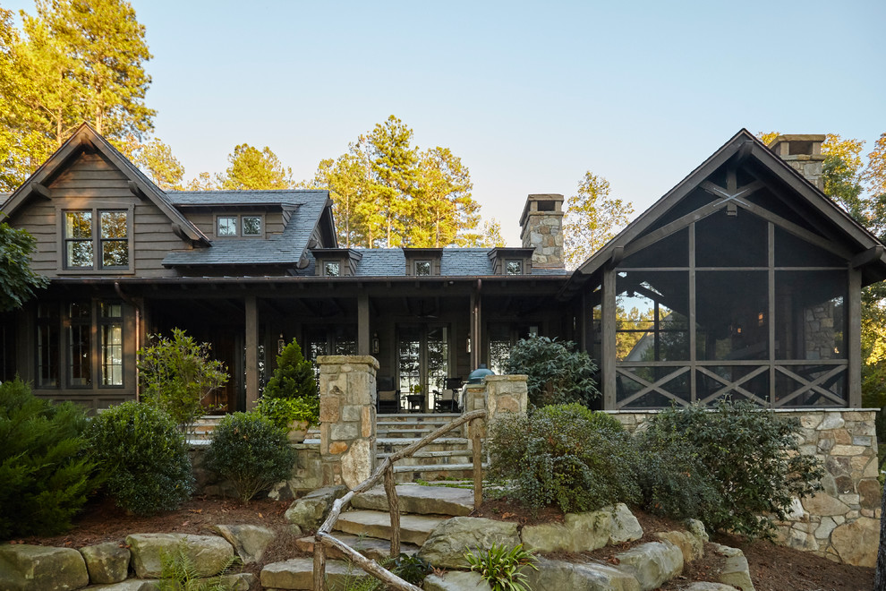 Inspiration for an exterior home remodel in Atlanta