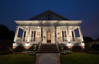 Lakeview Cottage 2 Traditional Exterior New Orleans By Tyson Construction