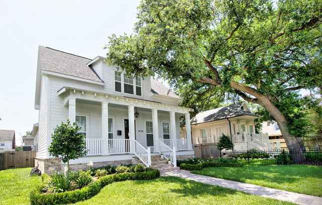 Lakeview Home traditional-exterior