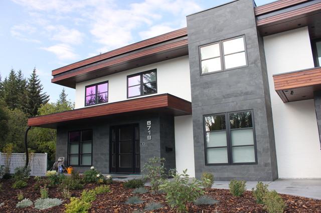 Lakeview Village Modern modern-exterior