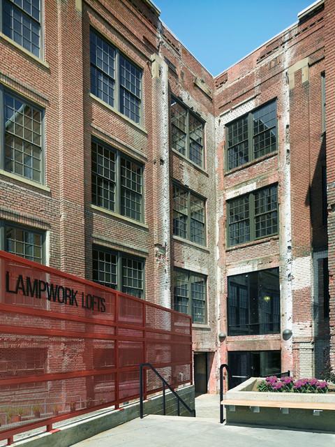 lampwork lofts oakland industrial exterior san francisco by