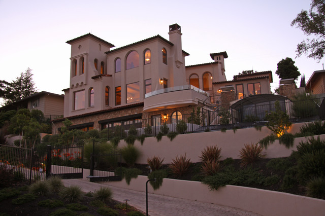 Landmark Builders - Custom Home Builder mediterranean exterior