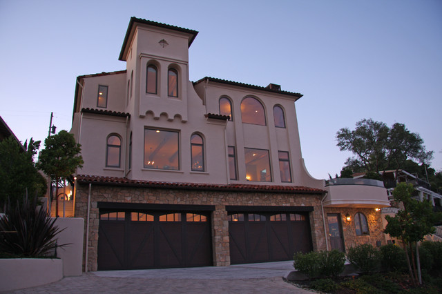 Landmark Builders - Custom Home Builder mediterranean-exterior