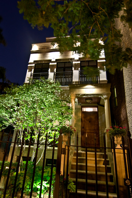 Landscape Lighting Traditional Exterior Chicago By Accents Lighting